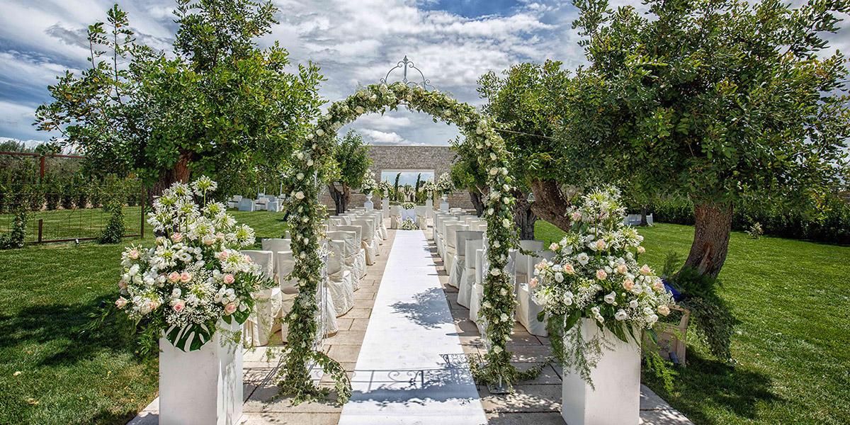 Location matrimoni per ricevimenti a Foggia in Puglia